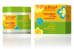 Alba Botanica Hawaiian, Aloe & Green Tea Oil-Free Moisturizer product image