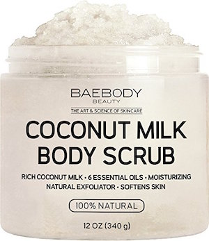 Baebody Coconut Milk Body Scrub product image