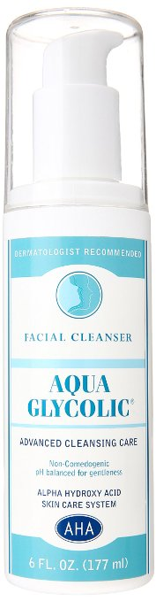 Aqua Glycolic Facial Cleanser product image