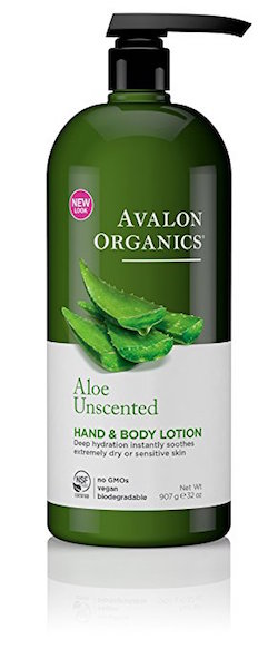 Avalon Organics Hand and Body Lotion, Aloe Unscented product image