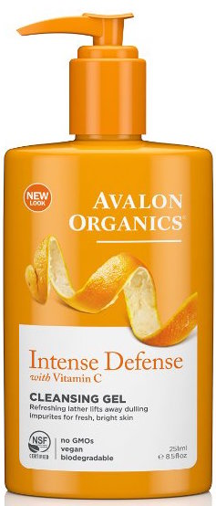 Avalon Organics Intense Defense Cleansing Gel product image