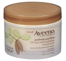 Aveeno Positively Nourishing Whipped Souffle Body Cream product image