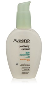 Aveeno Positively Radiant Daily Moisturizer with Broad Spectrum SPF 15 product image