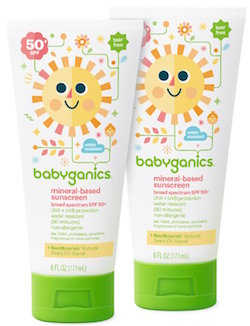 Babyganics Mineral-Based Baby Sunscreen Lotion, SPF 50 product image