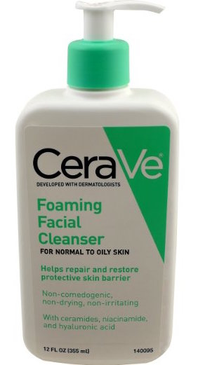 CeraVe Foaming Facial Cleanser product image