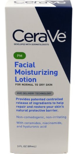 CeraVe PM Facial Moisturizing Lotion product image