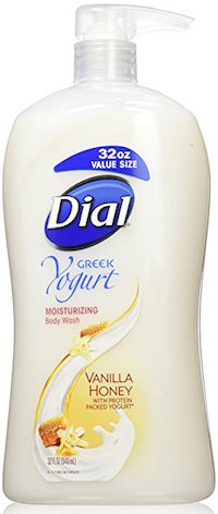 Dial Body Wash Moisturizing Greek Yogurt Vanilla Honey product image