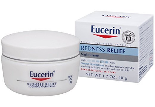 Eucerin Redness Relief Soothing Night Creme product image