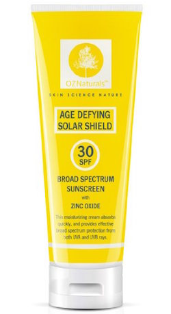 OZNaturals Age Defying Solar Shield SPF 30 Broad Spectrum Sunscreen product image