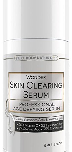 Pure Body Naturals Age Defying Skin Clearing Serum product image